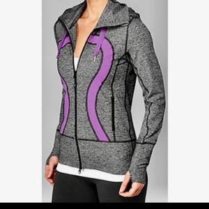 Lululemon Stride jacket grey & purple